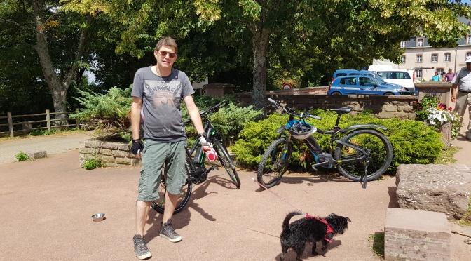 Mit dem e-Bike auf den Mont Ste. Odile