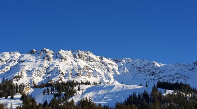 Sonne und Schnee satt am Oberjoch