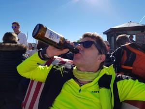 Steph der YoungTimer beim Skifahren
