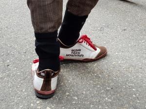 Designer-Schuhe bei Tweed Run