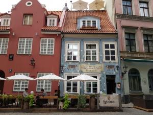 Straßen in Riga