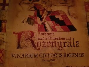 Restaurant Rozengrals Riga