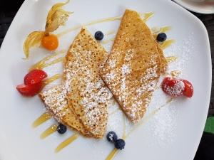 Frühstück in Riga